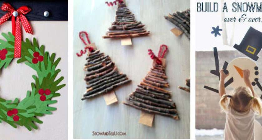 Kids Christmas Craft Ideas Sew New