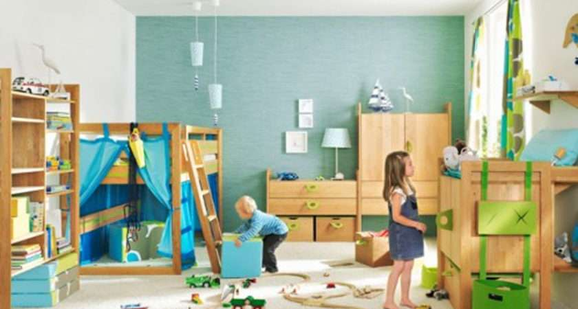 Kids Liked Play Spend Time Room Playing Children