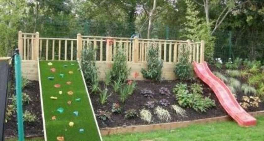 Kids Outdoor Play Area Ideas Grandkids Pinterest