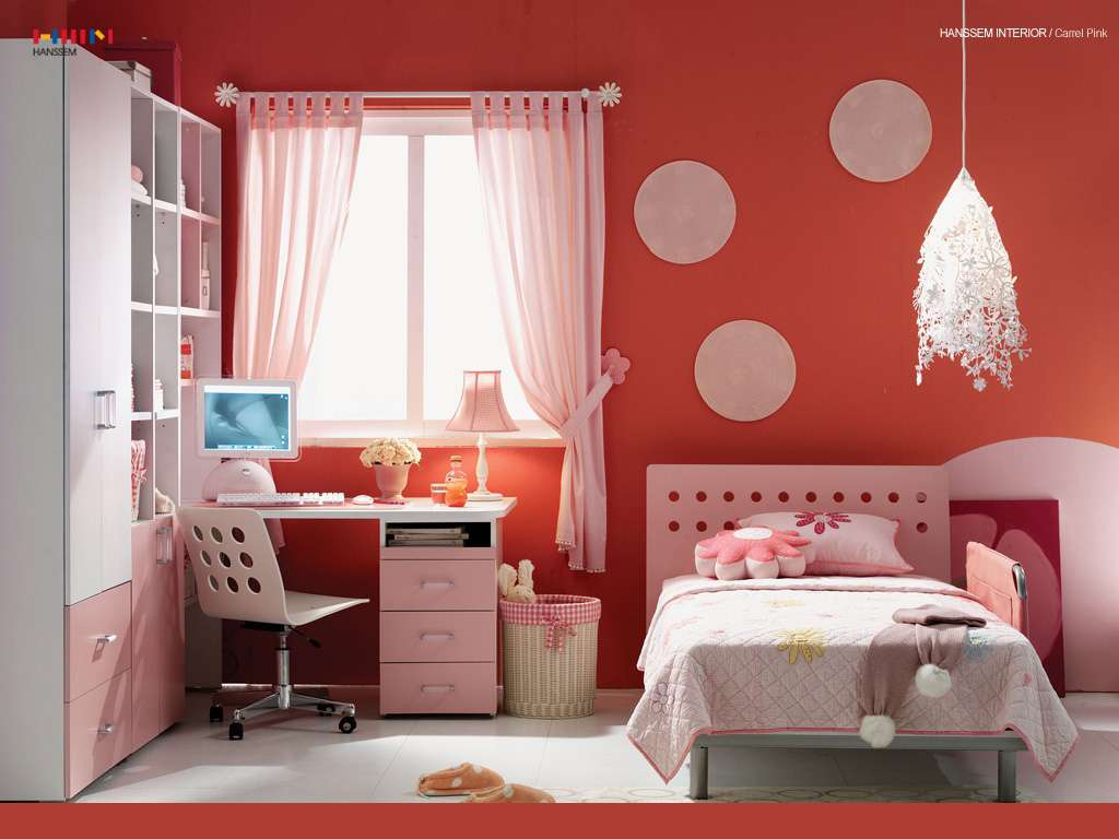 Kids Room Red Interiors