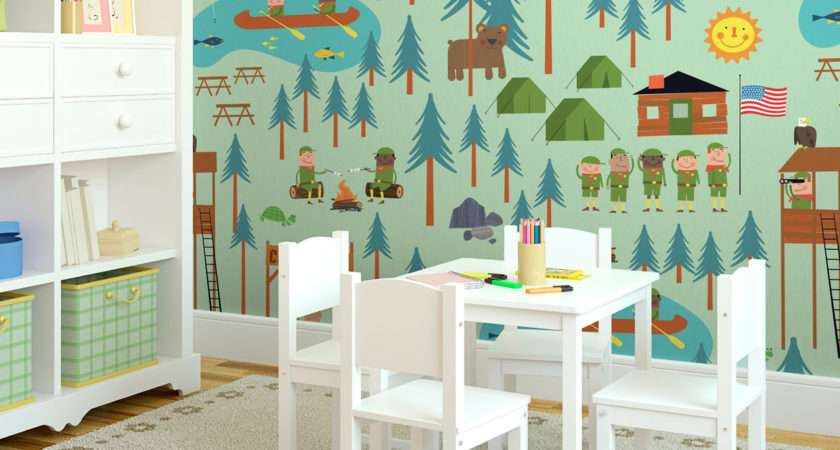 Kids Room Wall Murals Theme