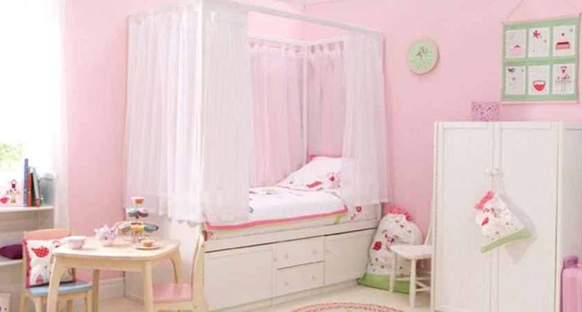 Kids White Four Poster Bed Childrens Centres