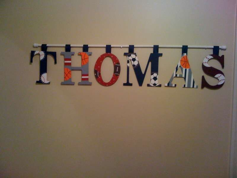 Kidspired Creations Hang Wall Letters