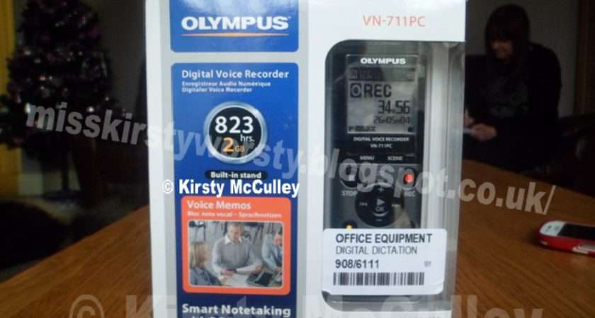Kirsty Worsty Olympus Dictaphone Review