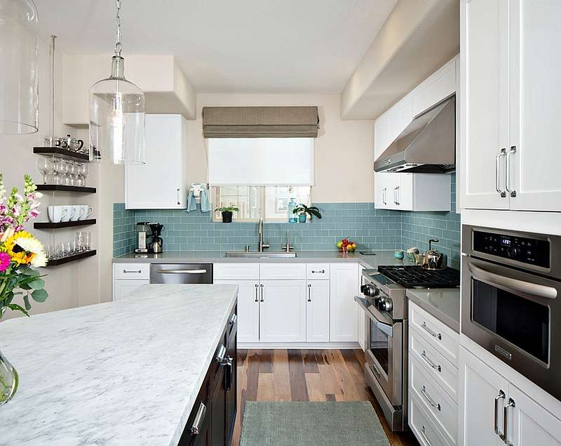 Kitchen Backsplash Ideas Splattering Most Popular Colors