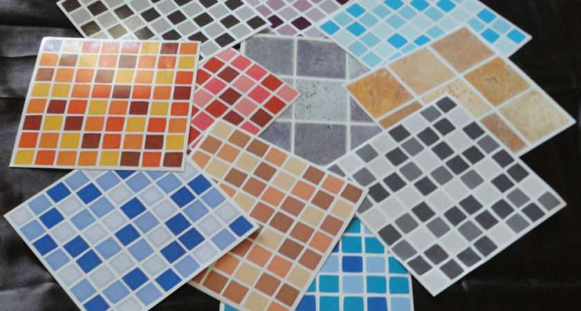 Kitchen Bathroom Mosaic Wall Tile Stickers Decals