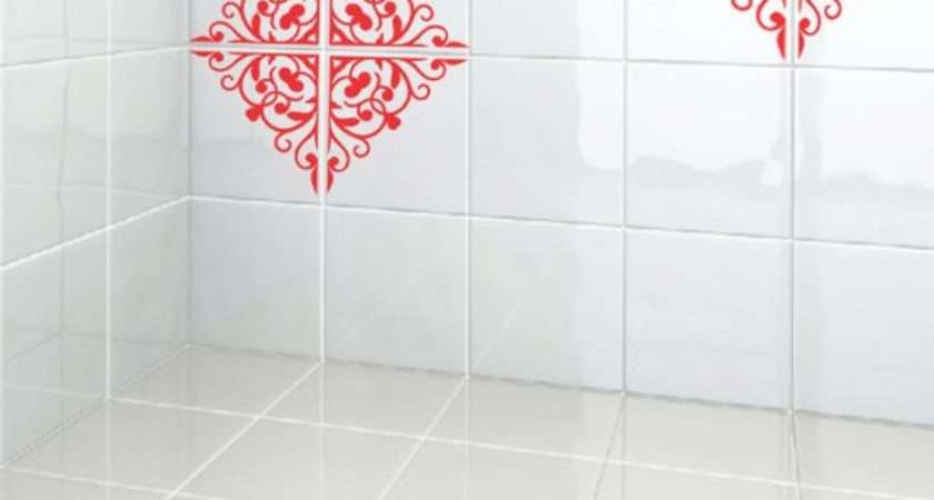 Kitchen Bathroom Tiles Decoration Vinyl Decal Moroccan