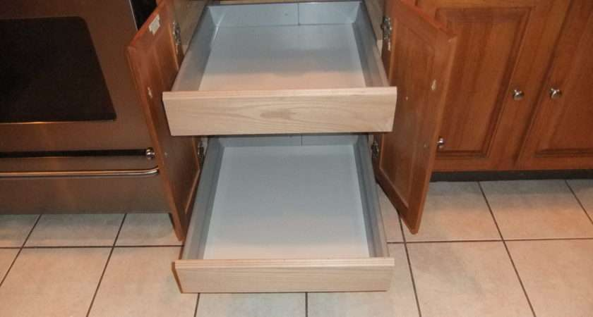 Kitchen Cabinets Adapting Ikea Cabinet Drawers Your Existing