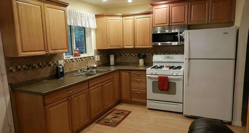 Kitchen Color Schemes Light Wood Cabinets Choosing Most