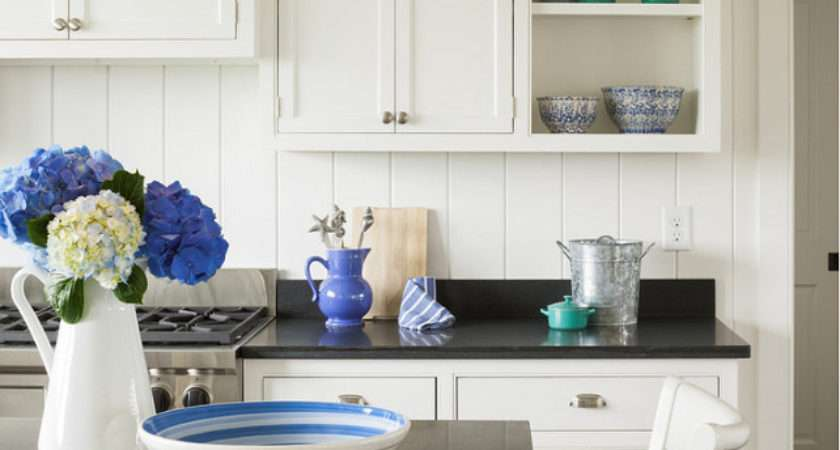 Kitchen Decor Ideas Blue White