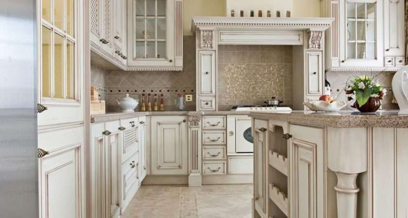 Kitchen Design Ideas Cabinets Traditional Antique