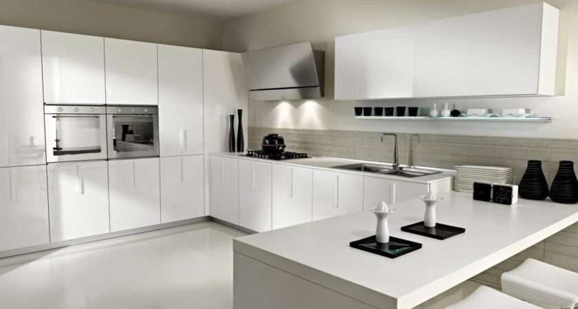 Kitchen Design Wood Lacquer Modular Cabinets