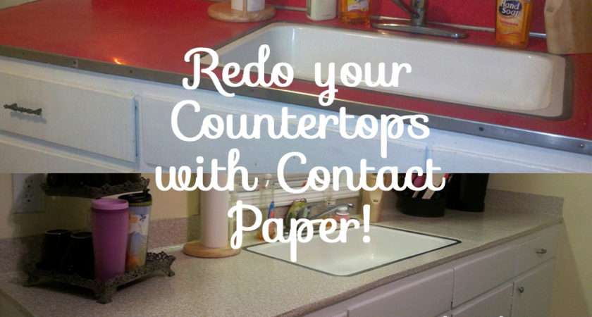 Kitchen Diy Redo Your Laminate Formica Counter Tops Contact