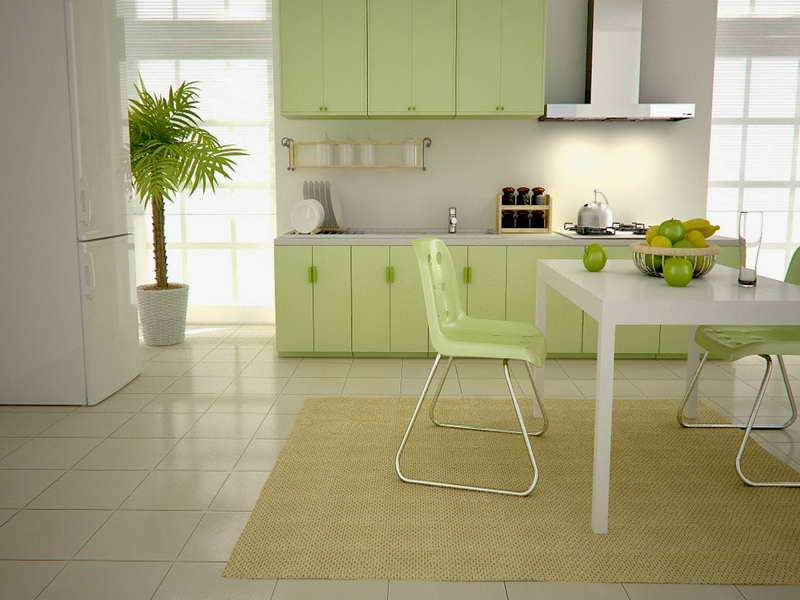 Kitchen Green Cabinets Design Ideas Amazing