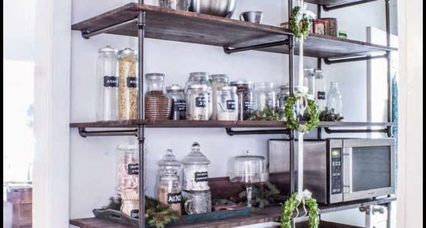 Kitchen Industrial Shelving Units