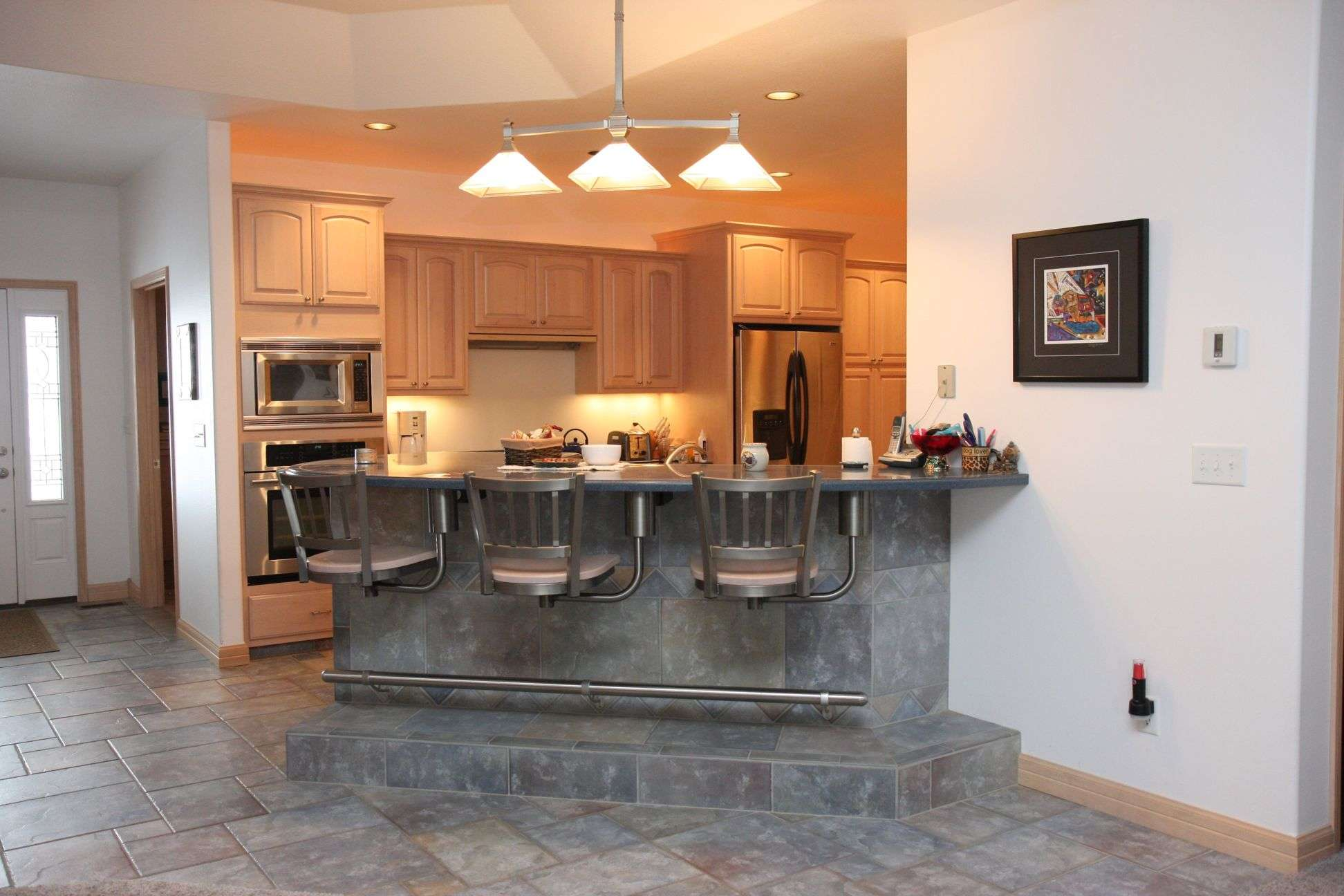 Kitchen Island Breakfast Bar Design Ideas Modern Home