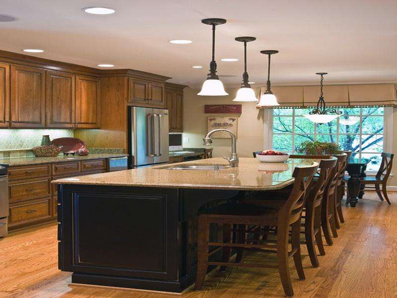 Kitchen Island Designs Seating