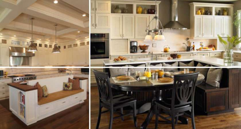 Kitchen Island Seating Woohome