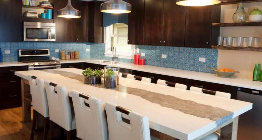 Kitchen Large Island Contemporary