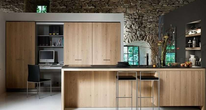 Kitchen Modern Rustic Home House Interior