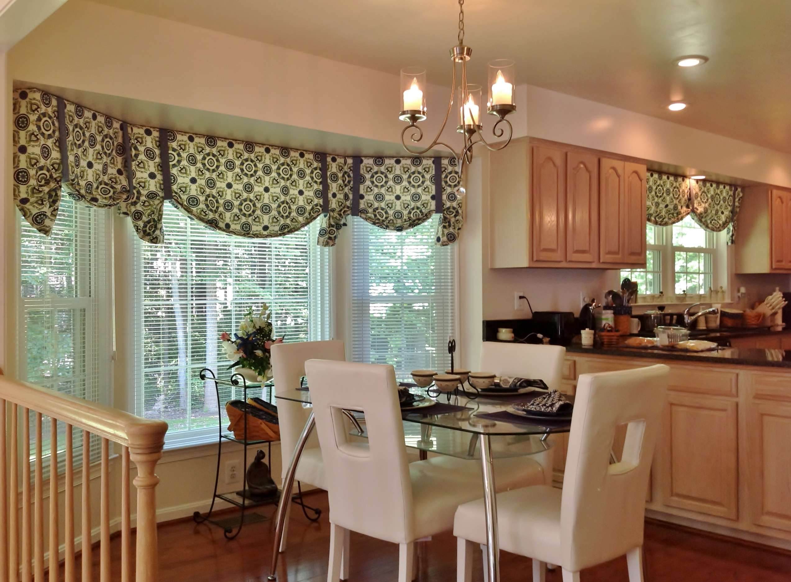 Kitchen Modern Window Curtains Valances Ideas Room