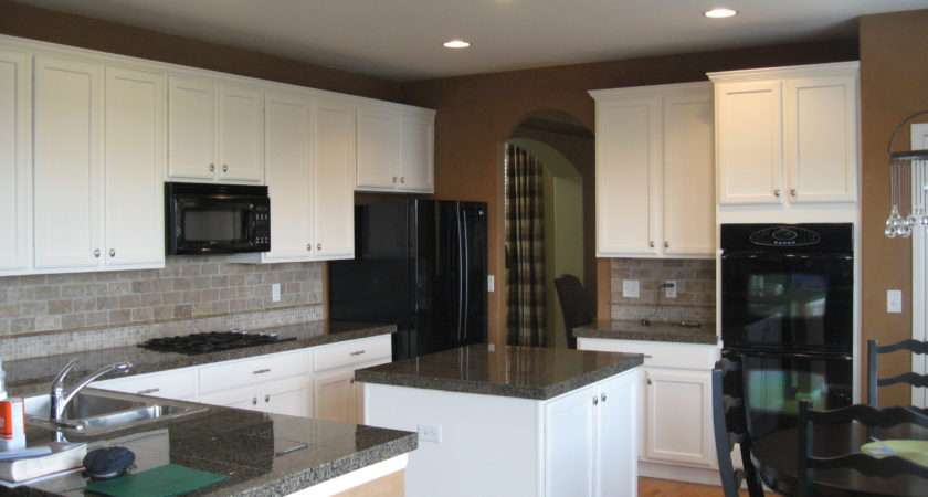 Kitchen Paint Colors White Cabinets Handy Home Design