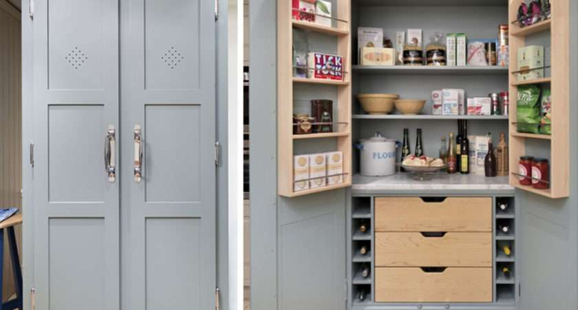 Kitchen Pantry Ideas Small Kitchens Home Decorating