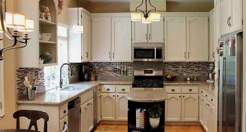 Kitchen Small Galley Makeover