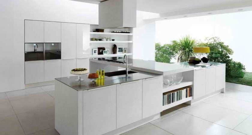 Kitchen Small White Give Calm Appearance Color Should