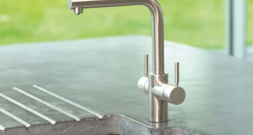 Kitchen Tap Filtered Steaming Hot Cold Water