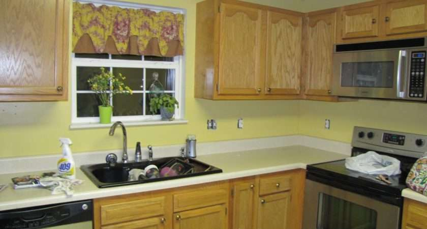Kitchen Yellow Moved Repainted Deeper