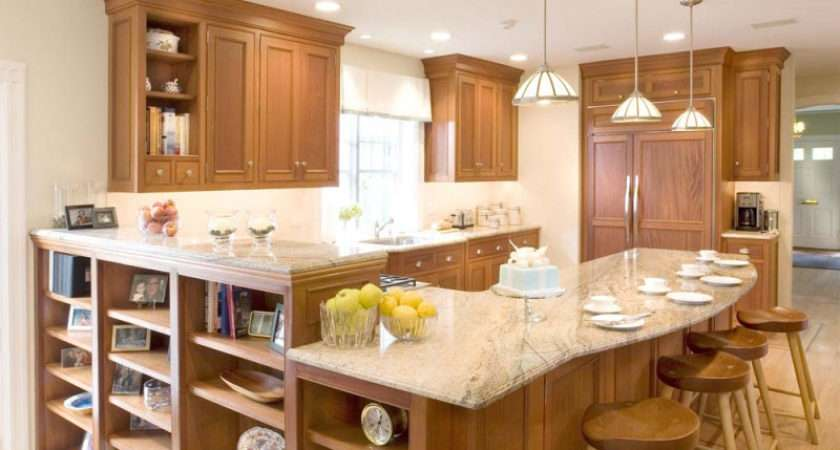 Kitchens Traditional Light Wood Kitchen Cabinets
