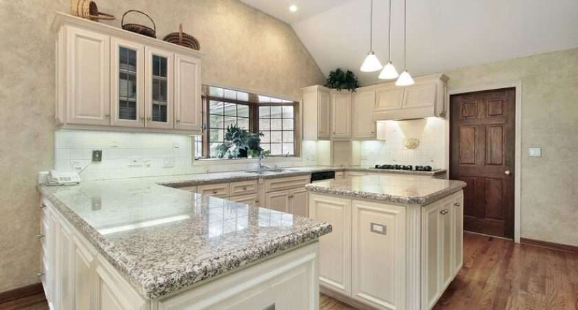 Kitchens Traditional Off White Antique Kitchen