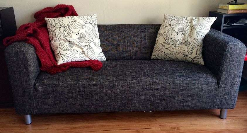 Klippan Seater Sofa Cover Comfort Works Custom Slipcovers