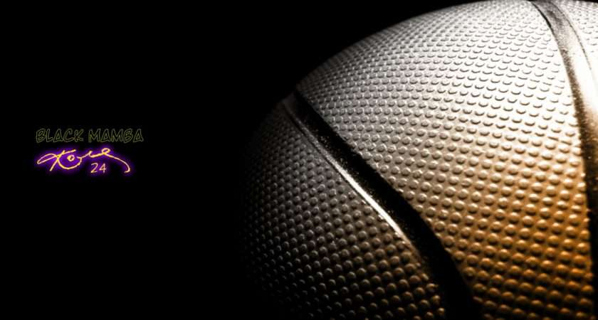 Kobe Bryant Signature Basketball