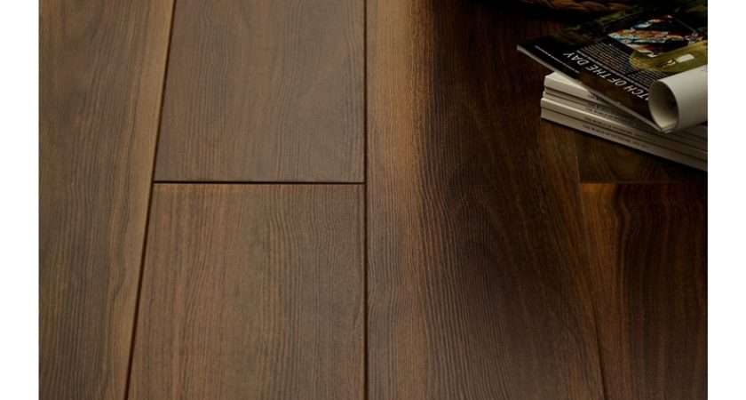 Laminae Dark Walnut Laminate Flooring Homebase