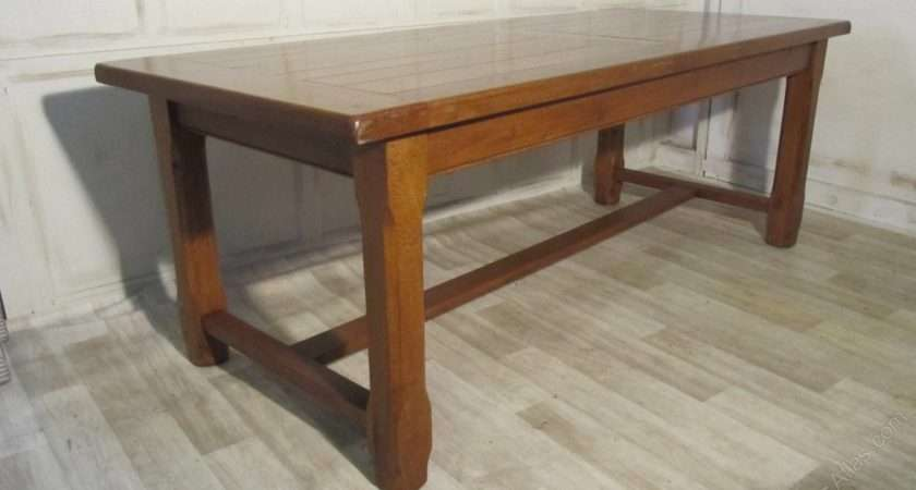 Large French Oak Dining Table Antiques Atlas