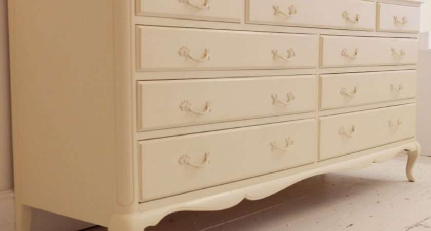 Large Nine Drawer Cream Chest Home Sweet Homehome