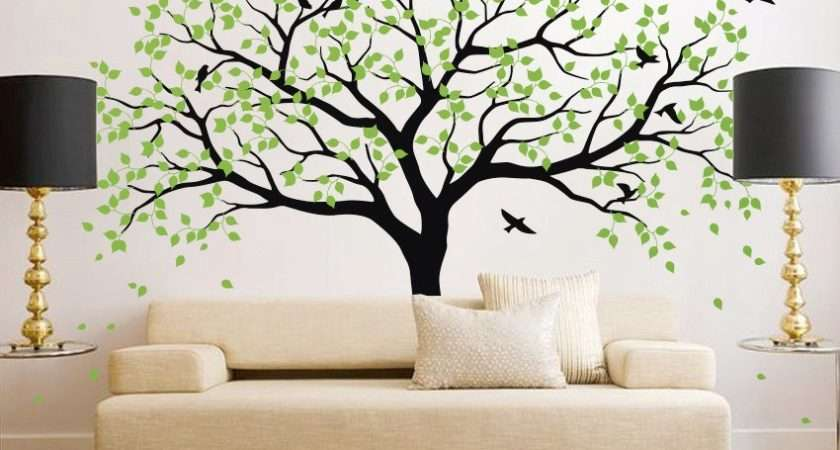 Large Tree Wall Decals Trees Decal Nursery