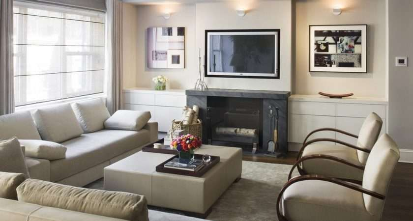 Latest Design Living Room Fireplace Wall
