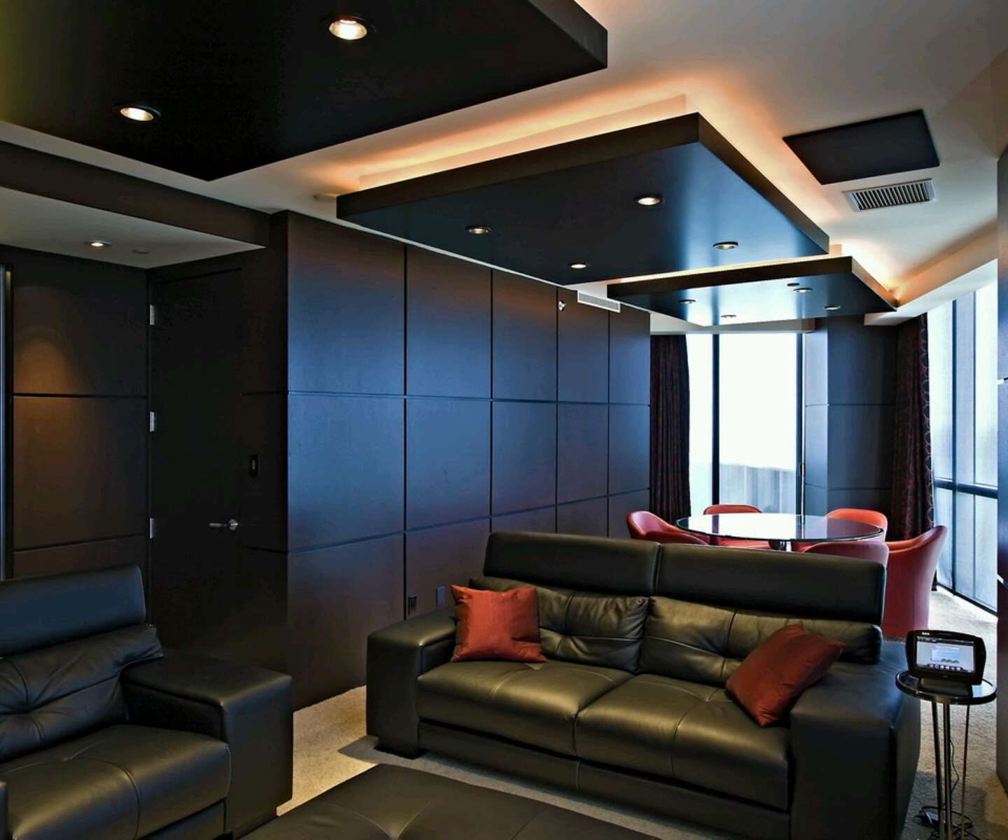 Latest Modern Interior Decoration Living Rooms Ceiling Designs Ideas