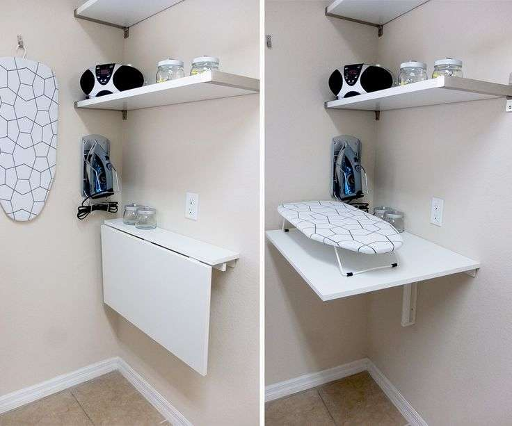 Laundry Room Table Ideas Brilliant Intended