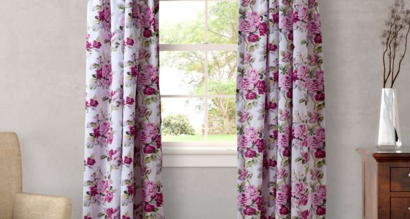 Laura Ashley Bedding Lidia Curtain Panel Set Ebay