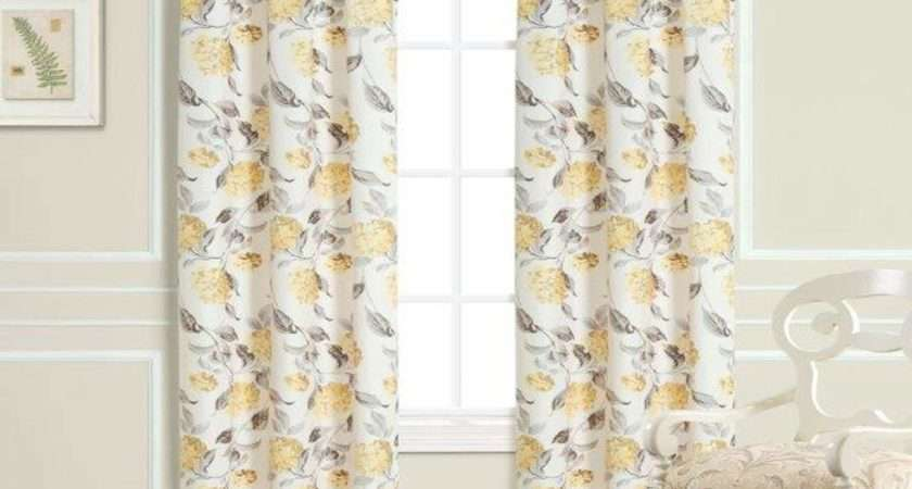 Laura Ashley Hydrangea Panel Pair Window Treatment