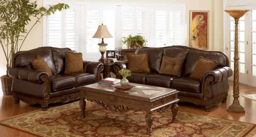 Leather Furniture Room Decorating Ideas Home
