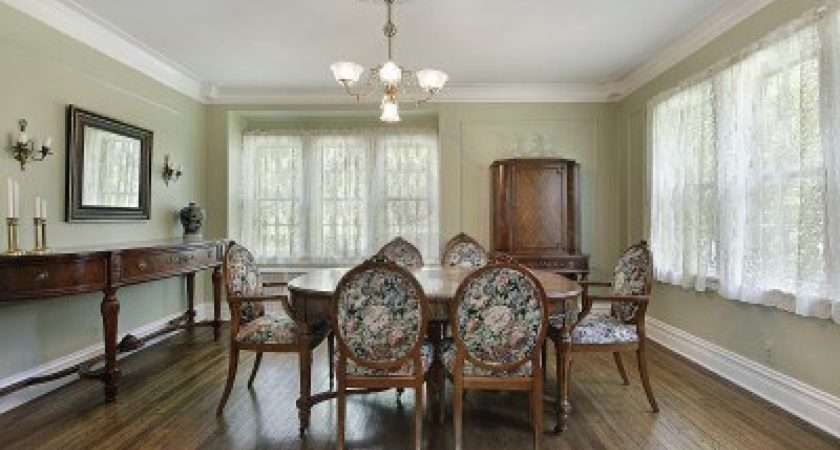 Light Green Wall Your Dining Room Color