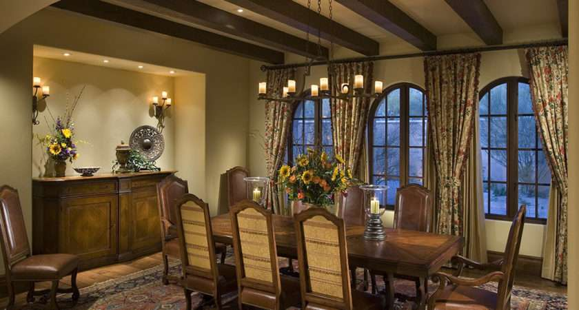 Lighting Decorating Ideas Dining Room Rustic Design