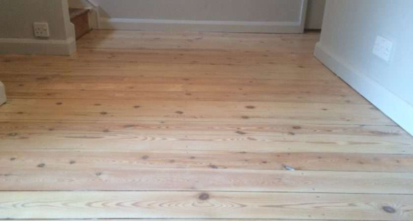 Lime Washing Floor Boards