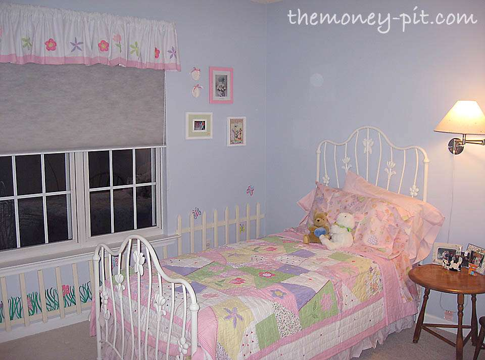 Little Girl Blue Flower Garden Bedroom Kim Six Fix
