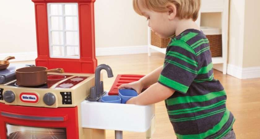 Little Tikes Cook Store Kitchen Red